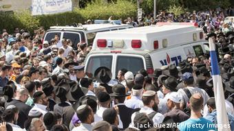 Trauerfeier für entführte Studenten in Israel