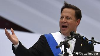 El presidente de Panamá, Juan Carlos Varela, acaba de cumplir su primer año en el cargo
