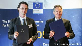 Srđan Verbić (lijevo): Očekujemo još veću podršku za naučnike iz Srbije