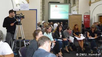 Salafismus-Tagung der Bundeszentrale für politische Bildung in Bonn (Foto: DW/U. Hummel)