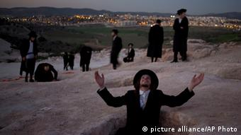 Ultra orthodox Jews in Beit Shemesh