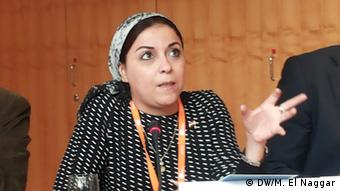 Η αιγύπτια ακτιβίστρια και μπλόγκερ Εσρά Αμπντέλ Φατάχ