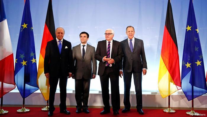 Зустріч міністрів закордонних справ чотирьох країн у Берліні