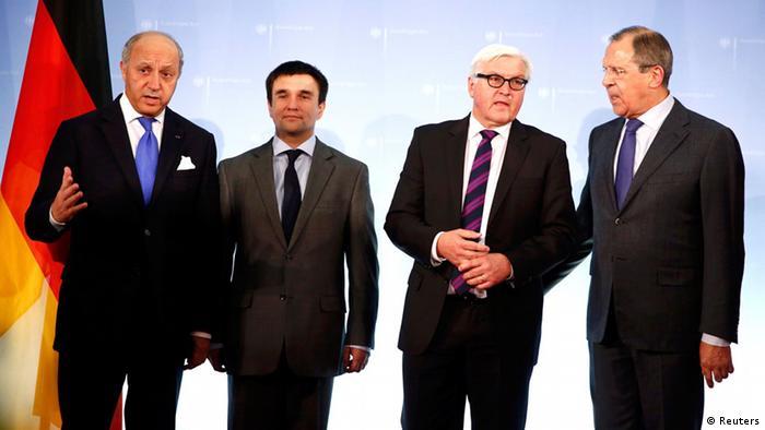 Außenministertreffen in Berlin 02.07.2014