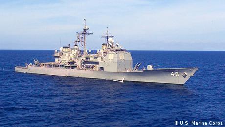 USA USS Zerstörer Vincennes