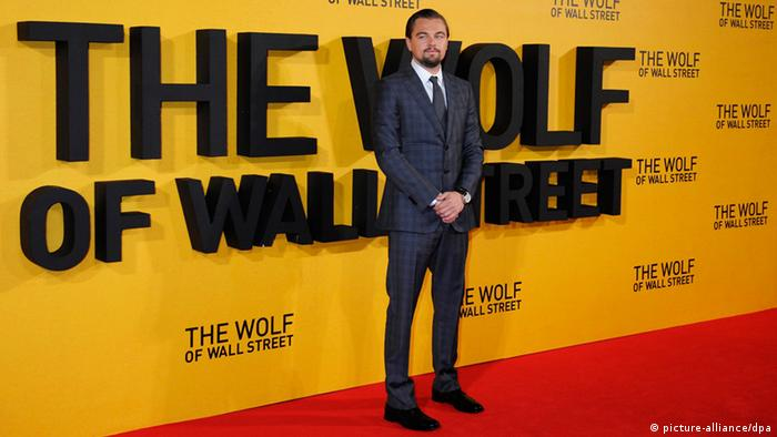 Leonardo Di Caprio Premiere The Wolf of Wall Street