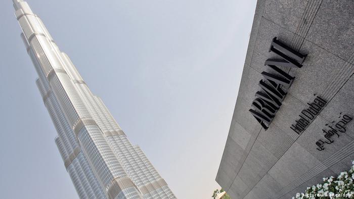 Armani Hotel ien el Burj Khalifa, Dubai. (Foto: EPA/ALI HAIDER)
