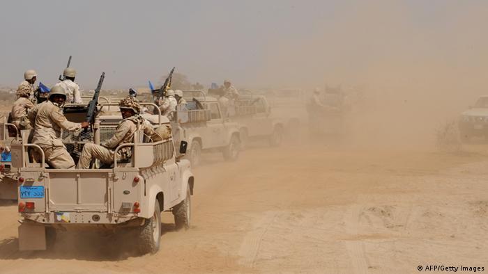 نیروهای ارتش عربستان سعودی (عکس از آرشیو)