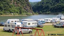 Campen an der Loreley