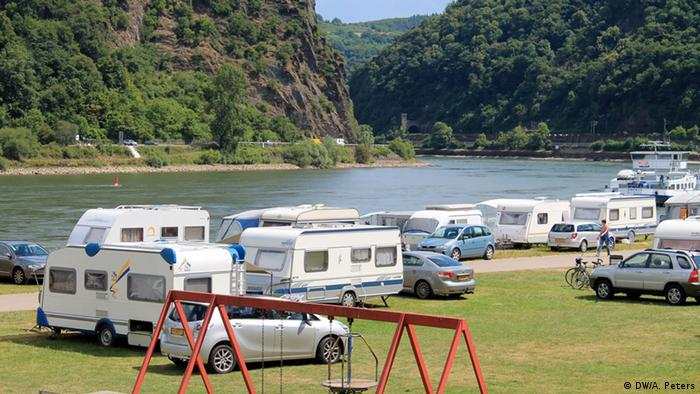 Campen an der Loreley