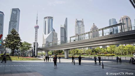 Shanghai Skyline 22.04.2014