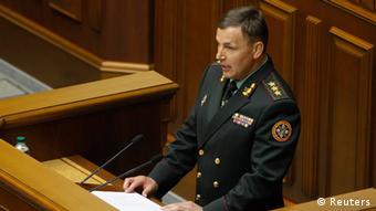 Valerij Geletej u konfirmua si ministër i ri i Mbrojtjes nga parlamenti në Ukrainë.