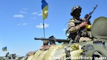 Ostukraine Armee Anti-Terror-Operation 03.07.2014