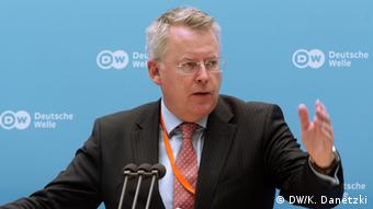 DW-Intendant Peter Limbourg auf dem Global Media Forum 2014