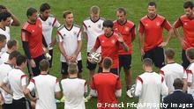 Fußball WM 2014 Training Deutschland Frankreich Viertelfinale