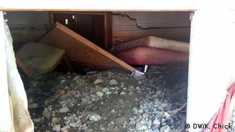 damaged cellar copyright: Kristen Chick