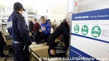 Flughafen Paris Sicherheitscheck