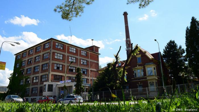 Das Fabrikgebäude von Varteks in Kroatien (Foto: Bogdanic / DW)