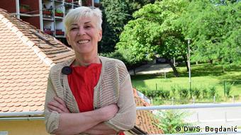 Sanja Sarnavka, Präsidentin Haus der Menschenrechte e.V.