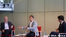 Klaus Staeck und Bassem Youssef
