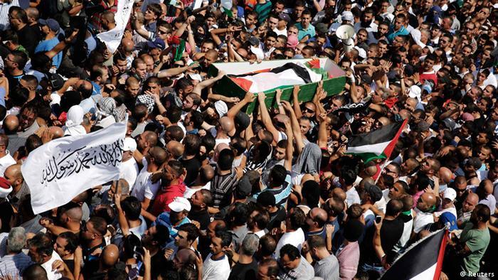 Jerusalem Begräbnis ermodeter Jugendlicher 04.07.2014