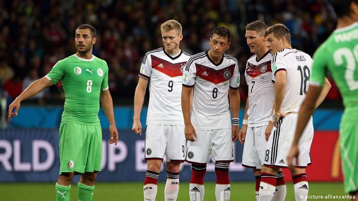 Fußball WM 2014 Deutschland Algerien