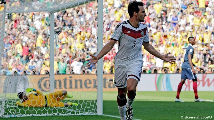 Fußball WM 2014 Deutschland Frankreich Viertelfinale