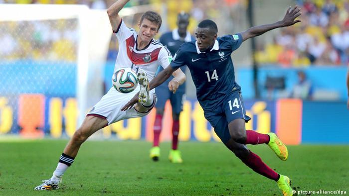 Alemanha x França: duelo inédito entre velhos rivais