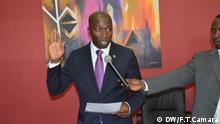 Amtseinführung des Premierministers von Guinea-Bissau Domingos Simões Pereira Aufnahmedatum: 03. 07.14 Fotografin Fátima Tchuma Camará (freie Mitarbeiterin, Bissau) via Antonio Cascais, DW
