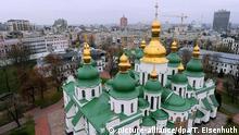Ukraine Sophienkathedrale in Kiew in Kiew