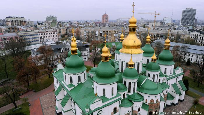 Saint Sophia Cathedral in Kyiv (picture-alliance/dpa/T. Eisenhuth)
