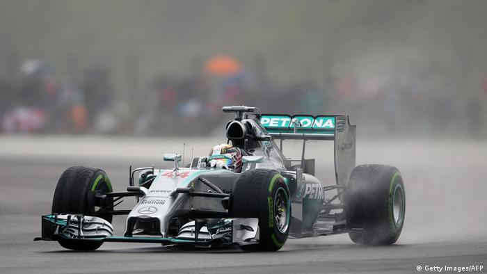 Mercedes-Pilot Nico Rosberg in seinem Formel-1-Boliden (Foto: ANDREW YATES/AFP/Getty Images)