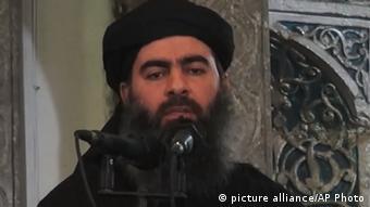 ابوبکر بغدادی که خود را ولی مسلمین جهان و خلیفهی دولت اسلامی مینامد