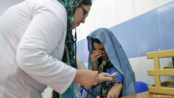Patient Babay-e-Bargh Klinik