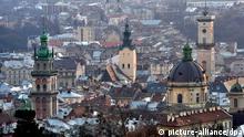 Stadt - Lemberg in der Ukraine