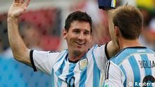 Fußball WM 2014 - Belgien Argentinien Jubel