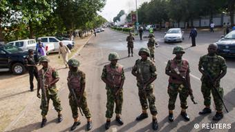 Nigeria Armee Anschlag in Abuja 25.6.2014 (REUTERS)