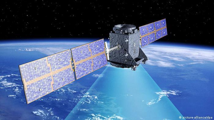 Satélite del sistema europeo de navegación y mediciones Galileo.