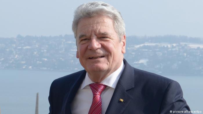 Федеральний президент Німеччини Йоахім Ґаук