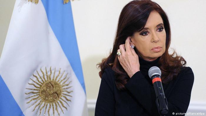 Argentinien - Präsidentin Cristina Fernandez de Kirchner