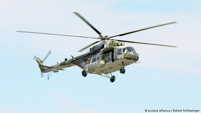 Helikopter Typ Mil Mi-171 Hippo - ILA 2014 (Foto: picture alliance)