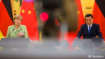 Angela Merkel in China 7.7.2014