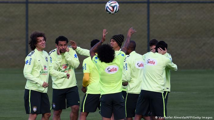 WM 2014 Brasilien Nationalmannschaft beim Training (Foto: AFP)
