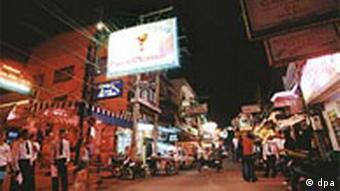 Pattaya is a hotspot for prostitution in Thailand