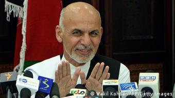 Afghanistan Wahl Präsidentschaftskandidat Ashraf Ghani 05.07.2014