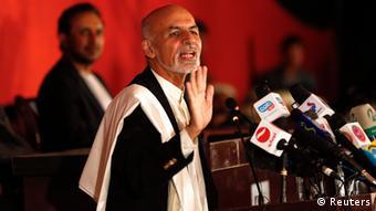 Der afghanische Präsidentschaftskandidat Ashraf Ghani (Foto: reuters)