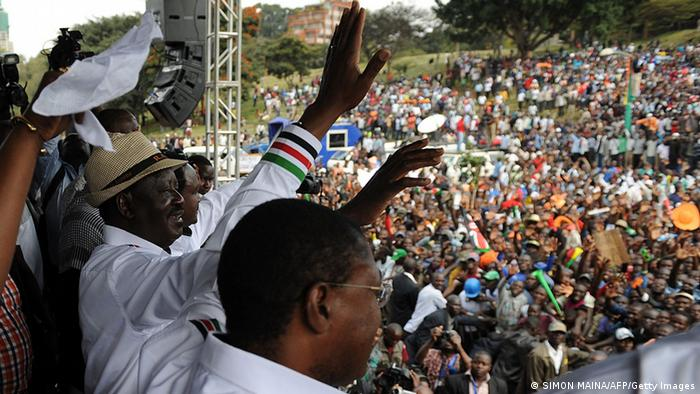 Protest in Kenya (SIMON MAINA/AFP/Getty Images)
