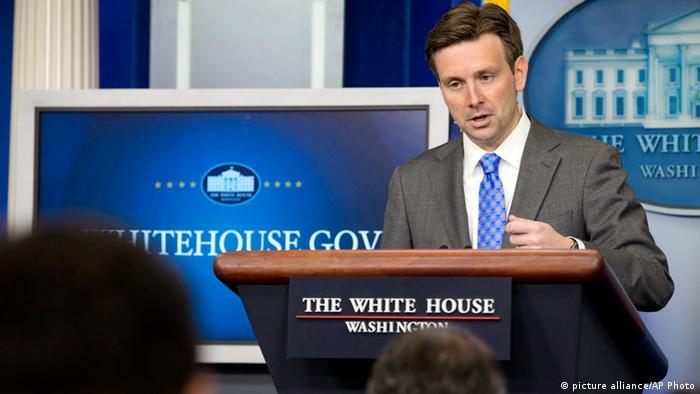 Josh Earnest Sprecher Weißes Haus Washington