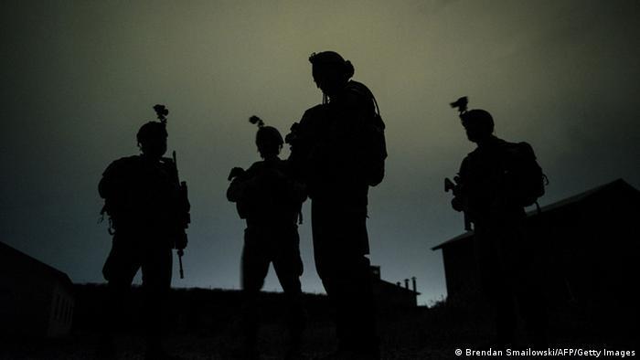 نیروهای ائتلاف بینالمللی در بگرام (عکس از آرشیو)