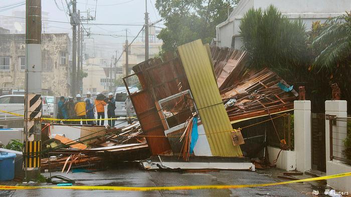 Taifun Japan Neoguri
